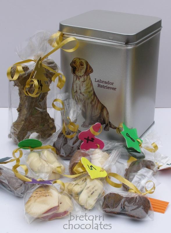 Labrador - adventní kalendář pro psy 45 pamlsků / 360 g