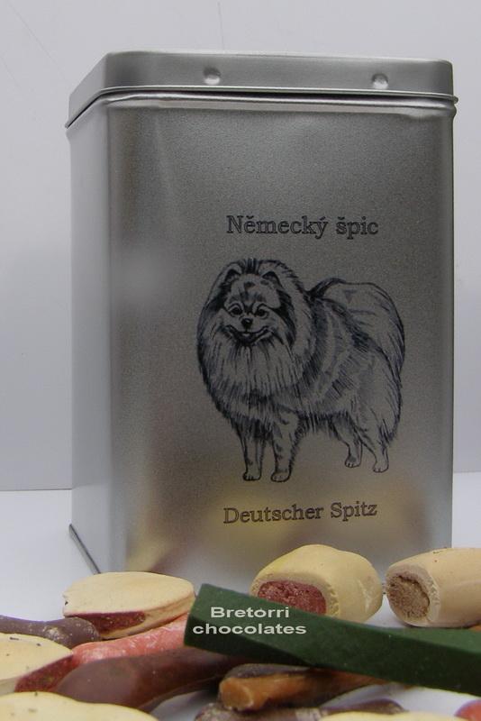 Špic - doza s pamlsky pro psy 30 ks pamlsků