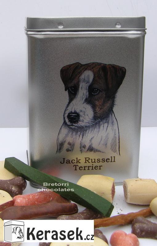 Jack R. terier - doza s pamlsky pro psy