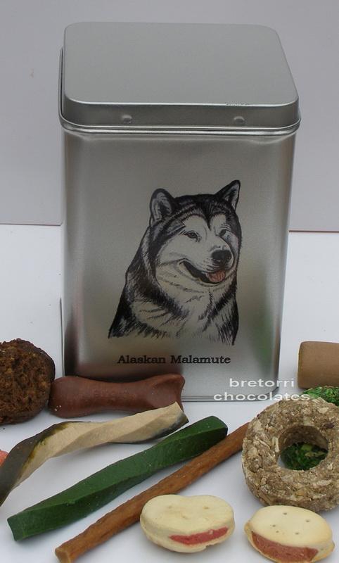 Malamut - doza s pamlsky pro psy 30 ks pamlsků