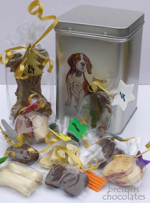 Bígl - dóza s pamlsky pro psy 30 kusů pamlsků