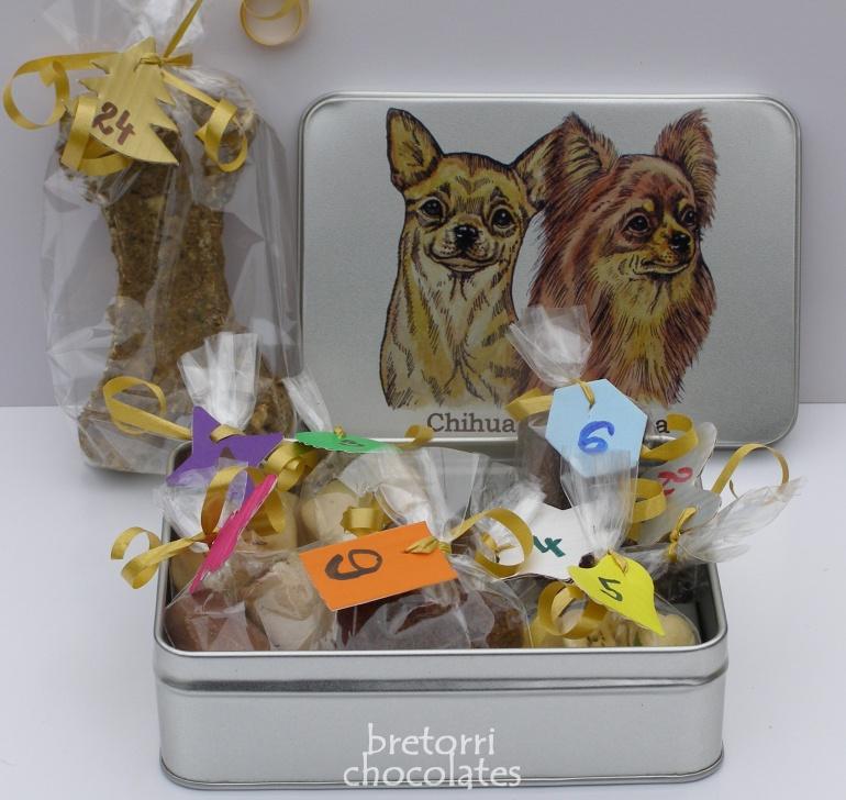 Čivavy - dóza s pamlsky pro psy 30 kusů pamlsků
