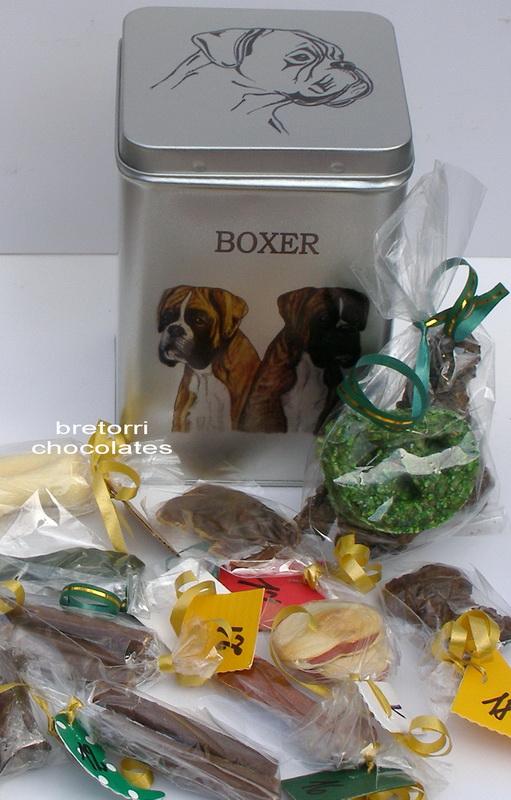 3x Boxer - adventní kalendář pro psy 45 pamlsků / 360 g