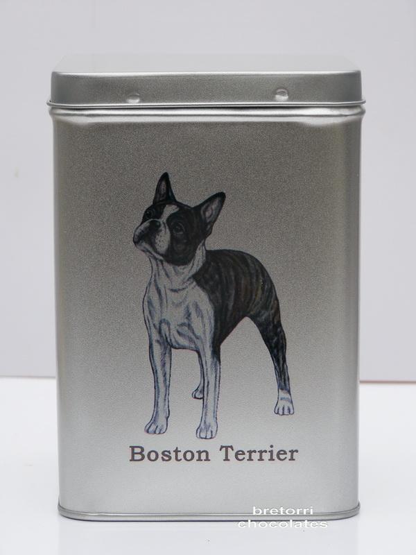 Doza větší - boston terier