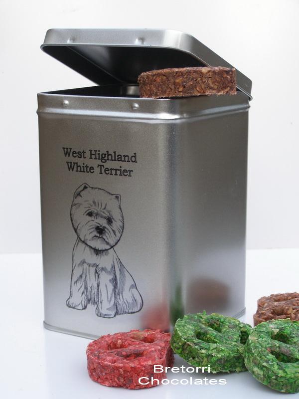Westík - dóza s pamlsky pro psy 30 pamlsků