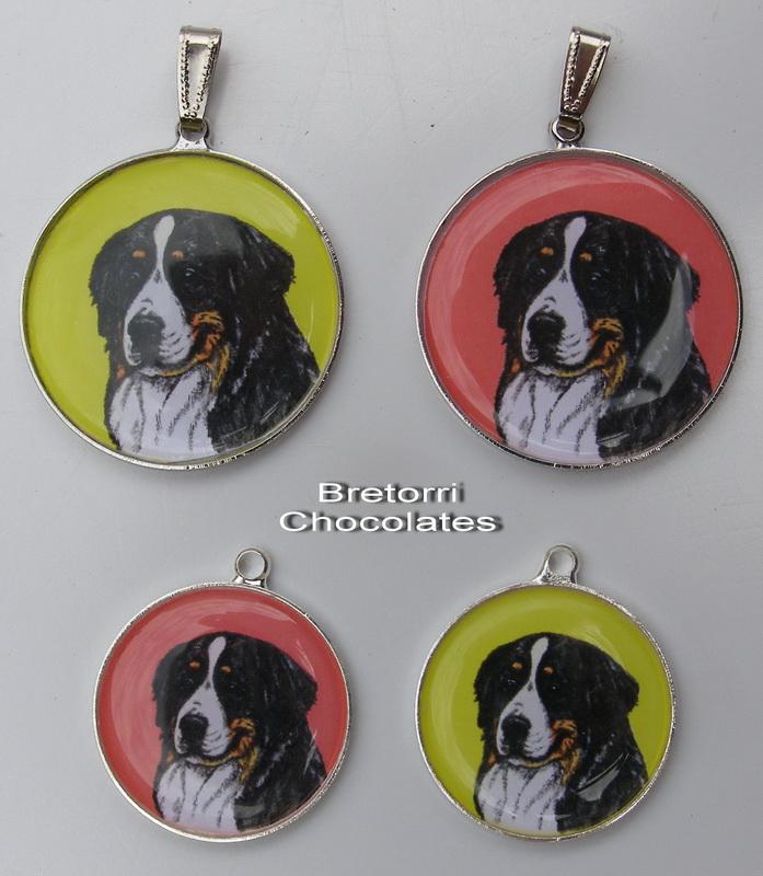 Bernský salašnický pes - přívěsek