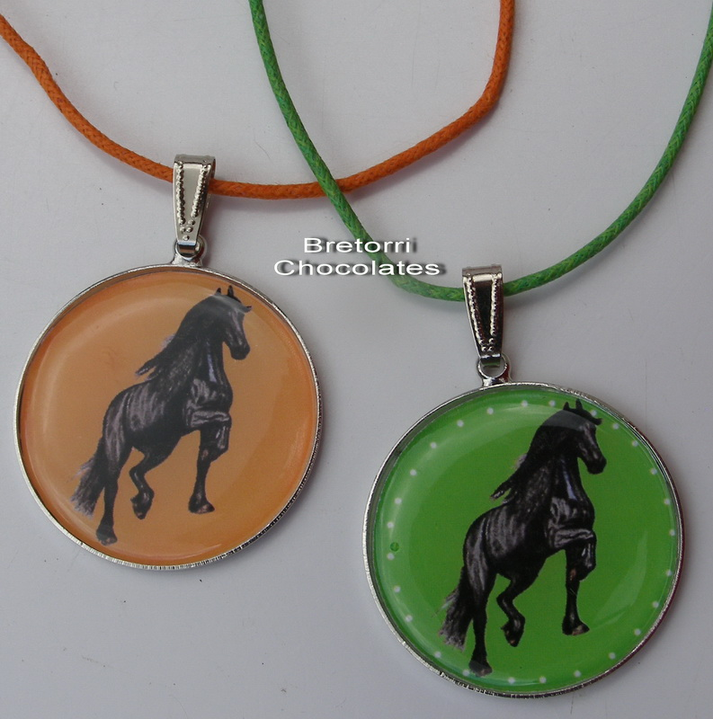 Fríský kůň - přívěsek