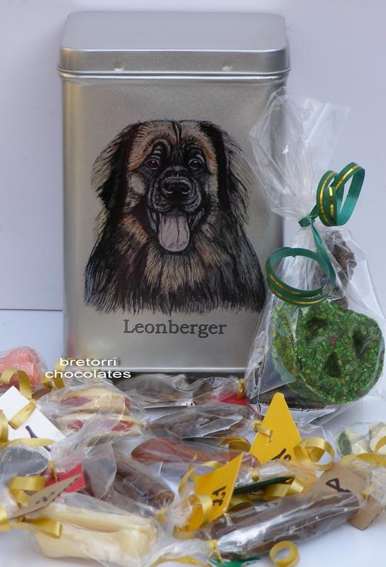 Leonberger - adventní kalendář pro psy 33 kusů pamlsků / 550 g