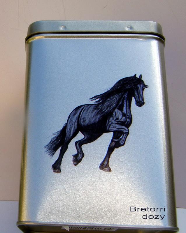 Doza - fríský kůň