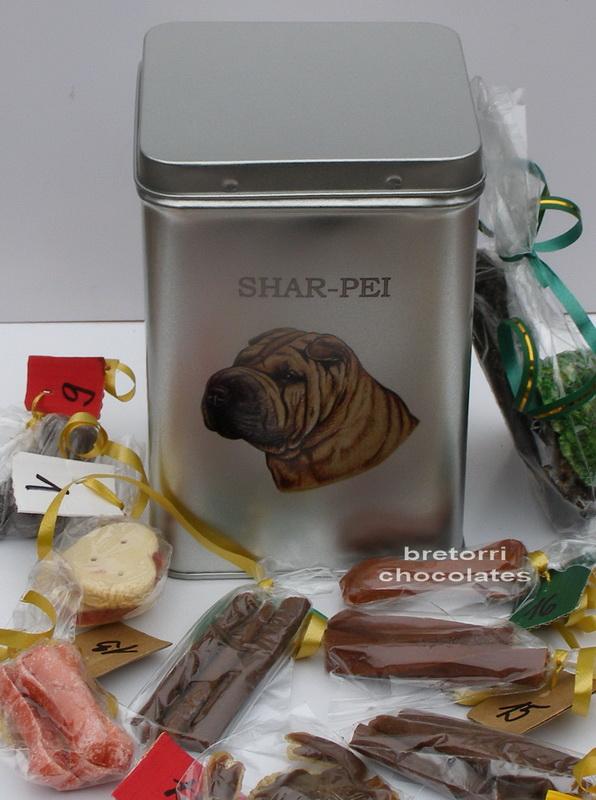 Šarpej - adventní kalendář pro psy 45 pamlsků / 360 g