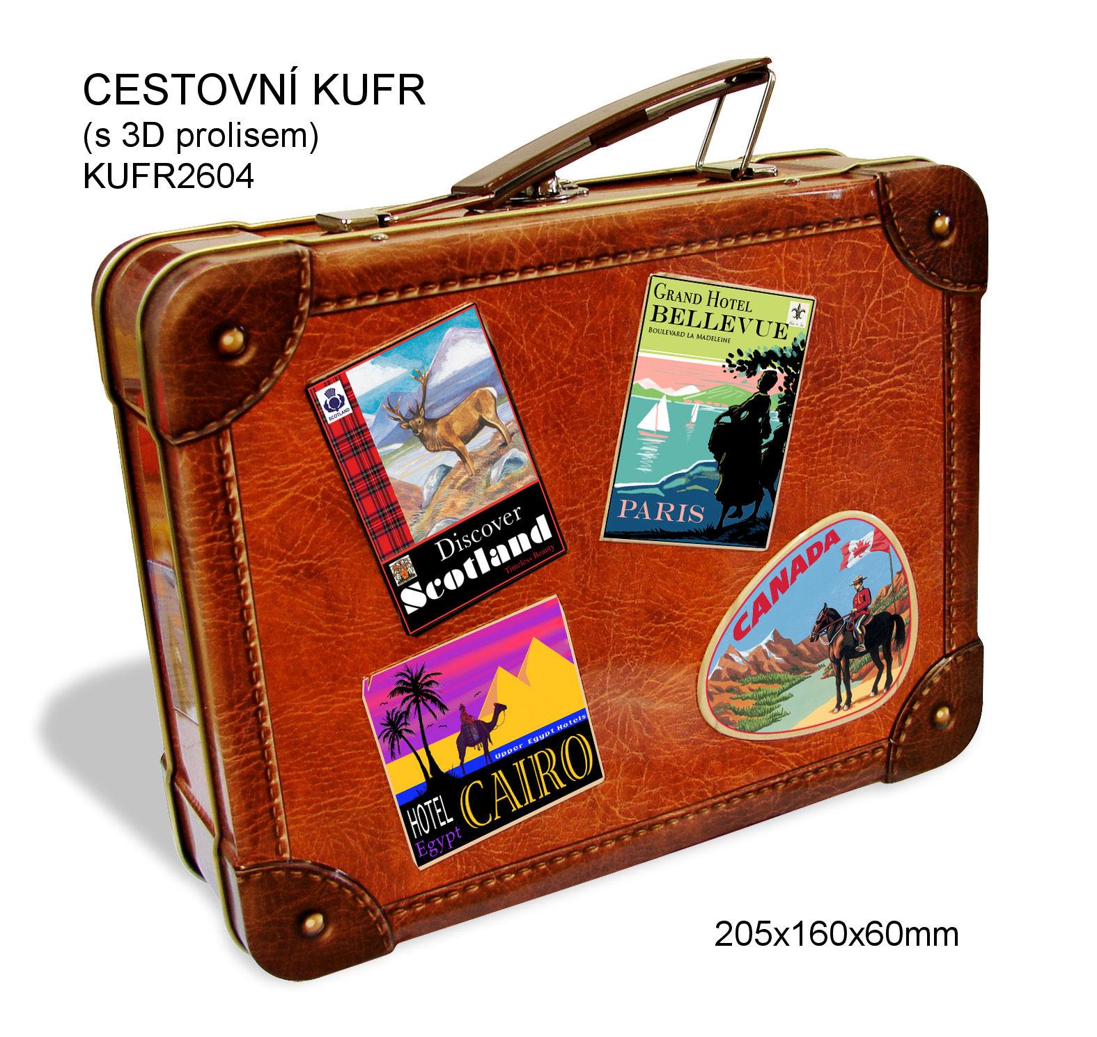 Doza - cestovní kufr