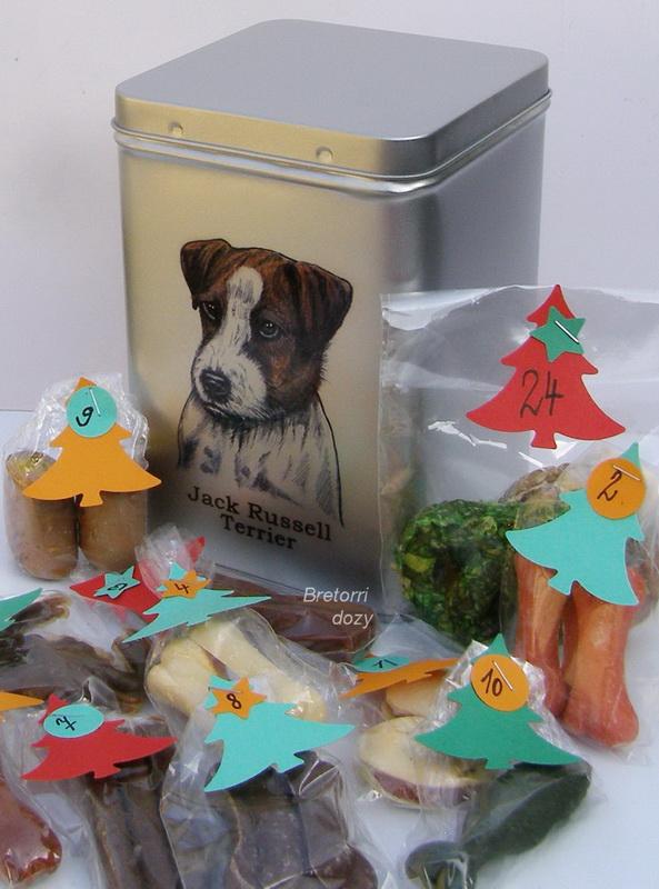 JRT - adventní kalendář pro psy Jack Russel Teriér