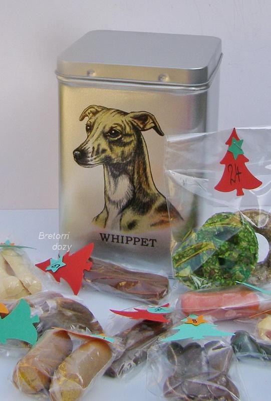 Whippet - adventní kalendář pro psy 45 pamlsků / 360 g