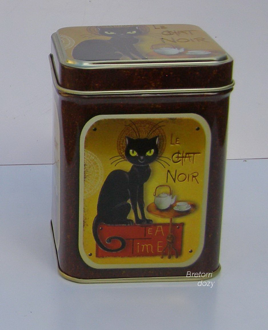 Čajová dóza - Le Chat Noir