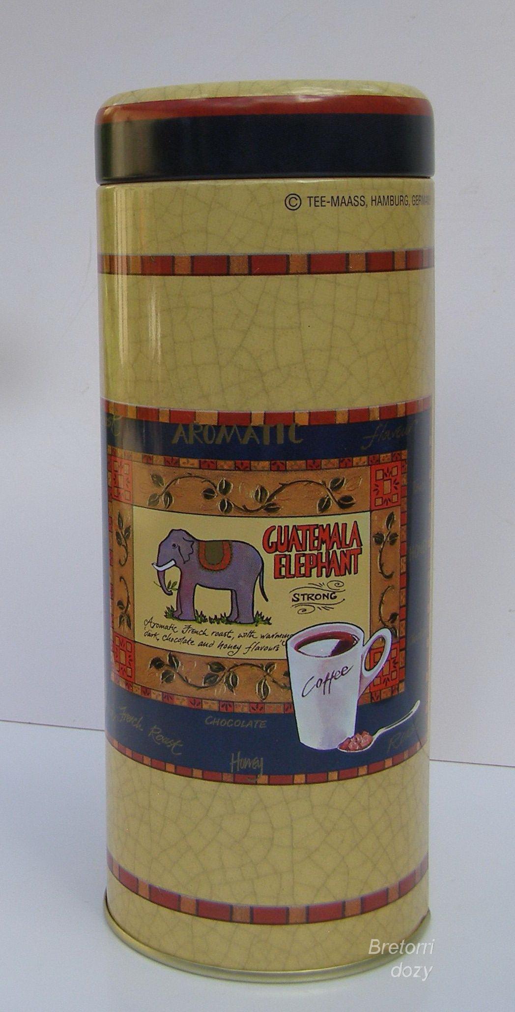 Dóza - slon a káva