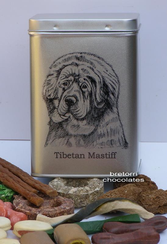 Tibetská doga - dóza s pamlsky pro psy 30 kusů pamlsků