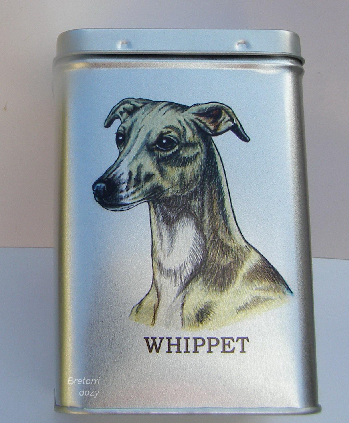 Whippet - dóza s pamlsky pro psy 30 pamlsků