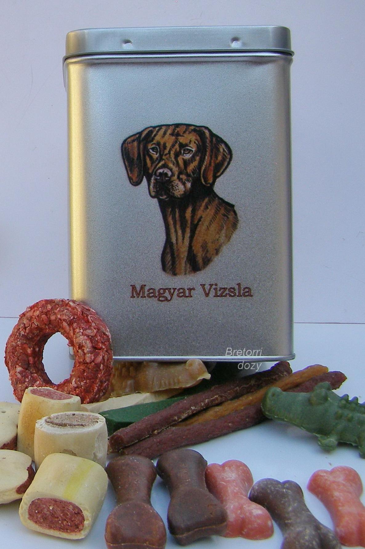 Maďarský ohař - dóza s pamlsky pro psy 30 pamlsků