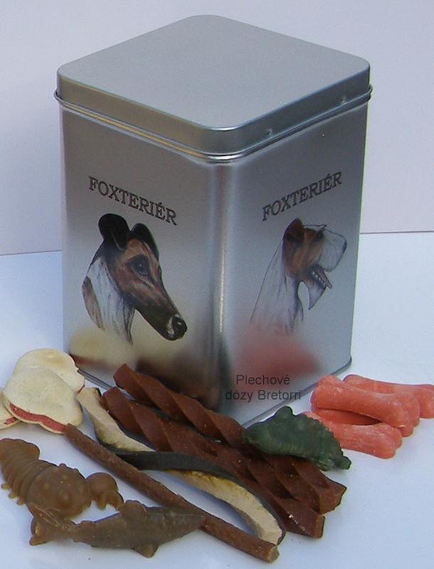 Foxteriéři - adventní kalendář pro psy 45 pamlsků / 360 g