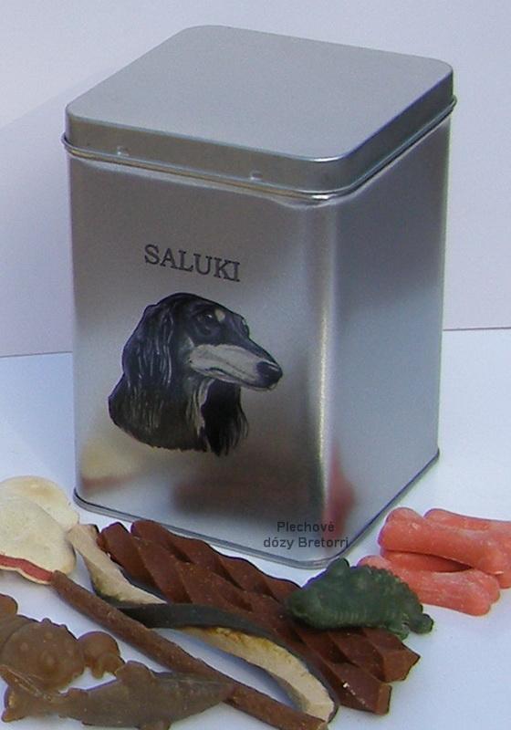 Saluki - adventní kalendář pro psy 33 kusů pamlsků / 550 g