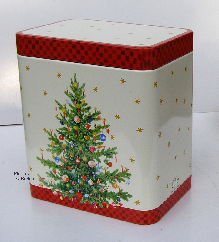 Dóza - vánoční stromeček