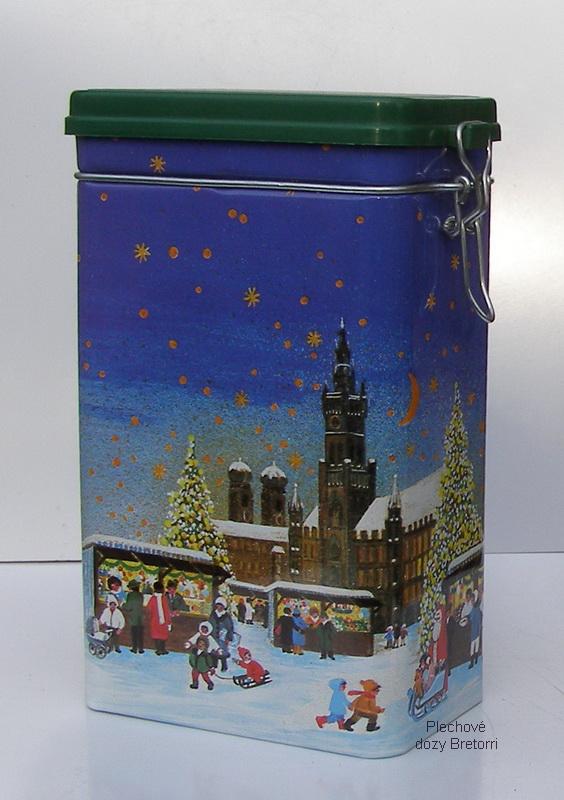 Dóza - vánoční trhy a stromek