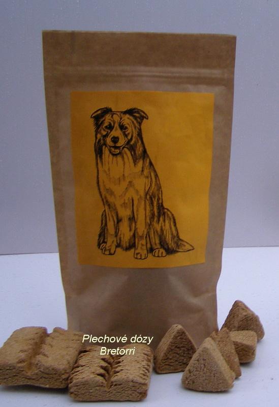 Border kolie - sáček s pamlsky pro psy 30 kusů pamlsků