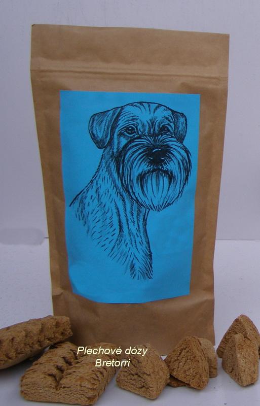 Knírač - sáček s pamlsky pro psy 30 kusů pamlsků
