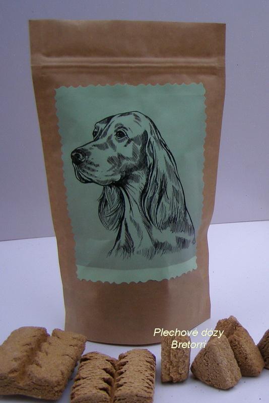 Irský setr - sáček s pamlsky pro psy 30 ks pamlsků