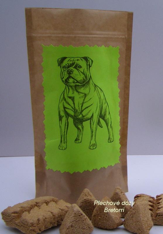 Stafordšír - sáček s pamlsky pro psy 30 kusů pamlsků
