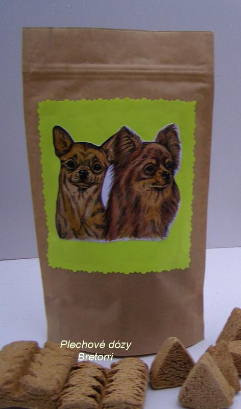 Čivavy - sáček s pamlsky pro psy 30 kusů pamlsků